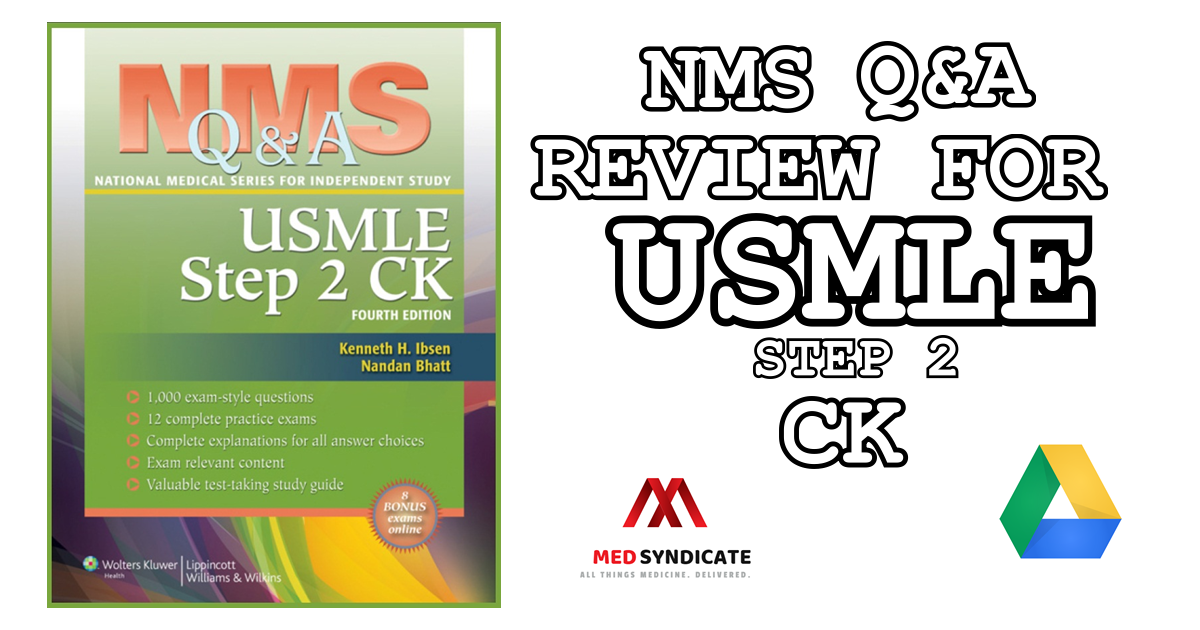 NMS Q&A Review for USMLE Step 2 CK - Free PDF Download