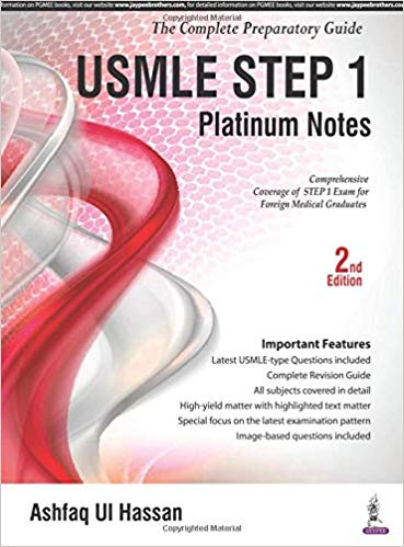 USMLE Platinum Notes Step 1 (2nd Edition) PDF Free Download | Med