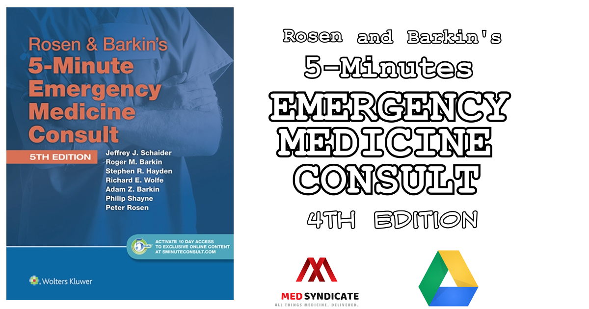5 minute emergency medicine consult free download